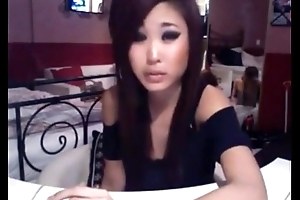 Asian cambabe smoking with the addition of teasing. With regard to at 747cams.com