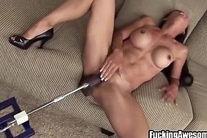 Tia Ling Plays Respecting A DP Fucking Machine