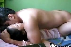 Clumsy Asian couple fucking on cam- www.phuckcam.com