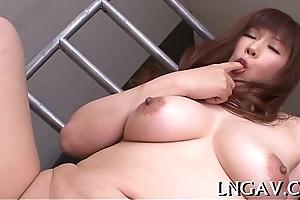 Fake penis barrage on horny slut