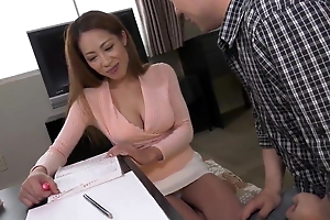 Kanna Kitayama :: Too Big To Work 1 - CARIBBEANCOM